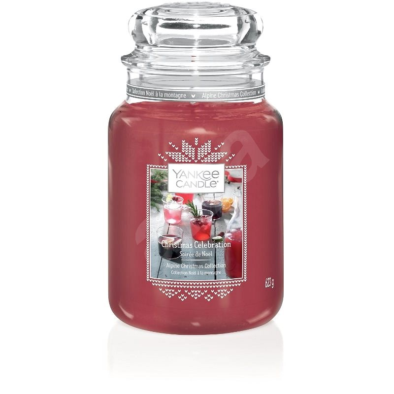 YANKEE CANDLE Christmas Celebration 623 g - Svíčka