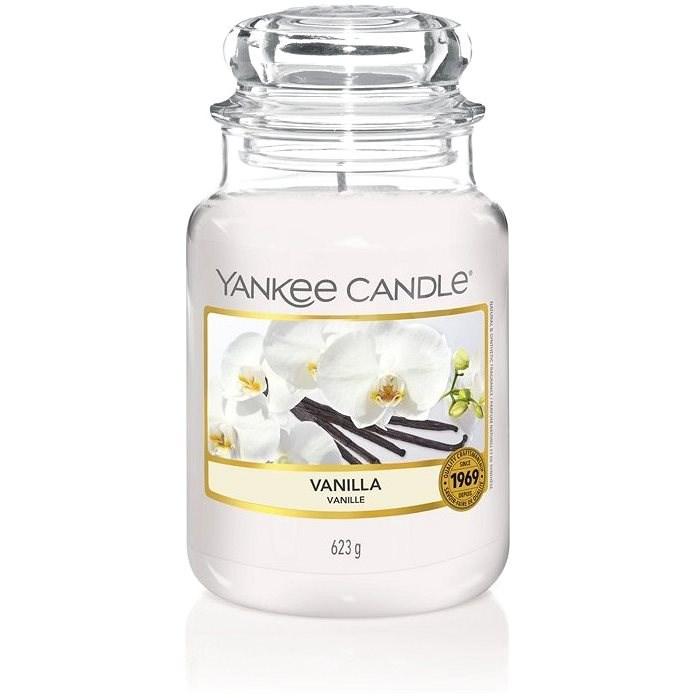 YANKEE CANDLE Vanilla 623 g - Svíčka