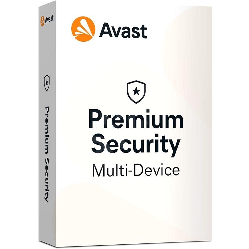 Antivirus Avast Premium Security Multi-device (až 10 zařízení) na 12 měsíců  (elektronická licence) | Antivirus na Alza.cz