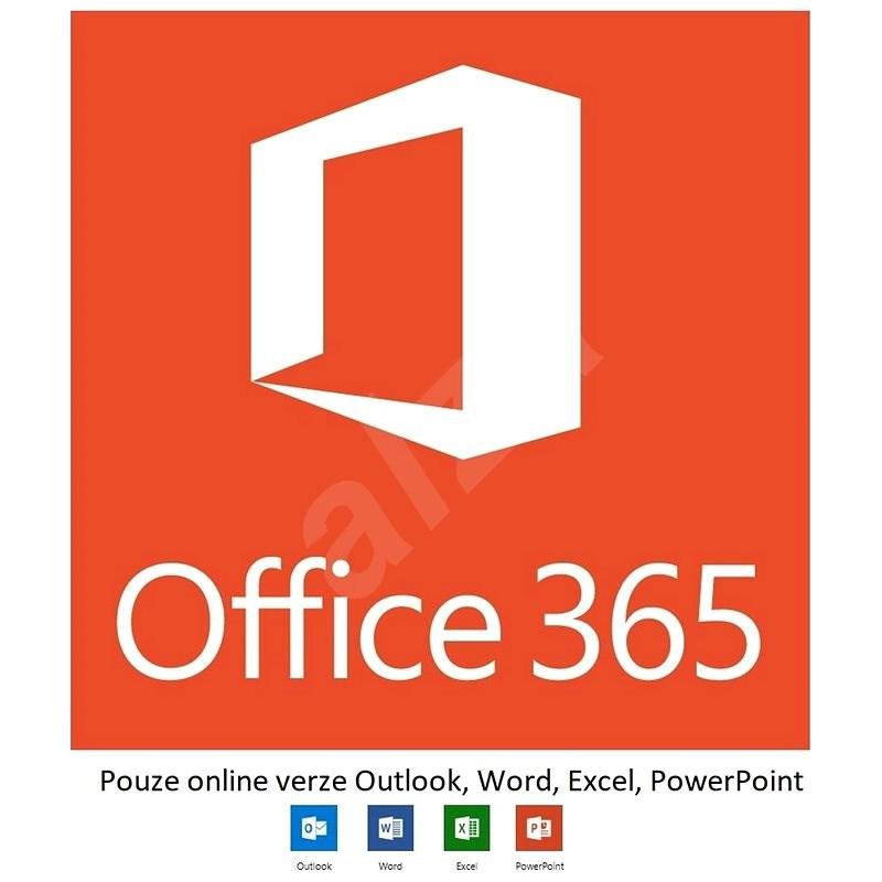 Microsoft Office 365 F3 (měsíční předplatné) - pouze online verze - Kancelářský software