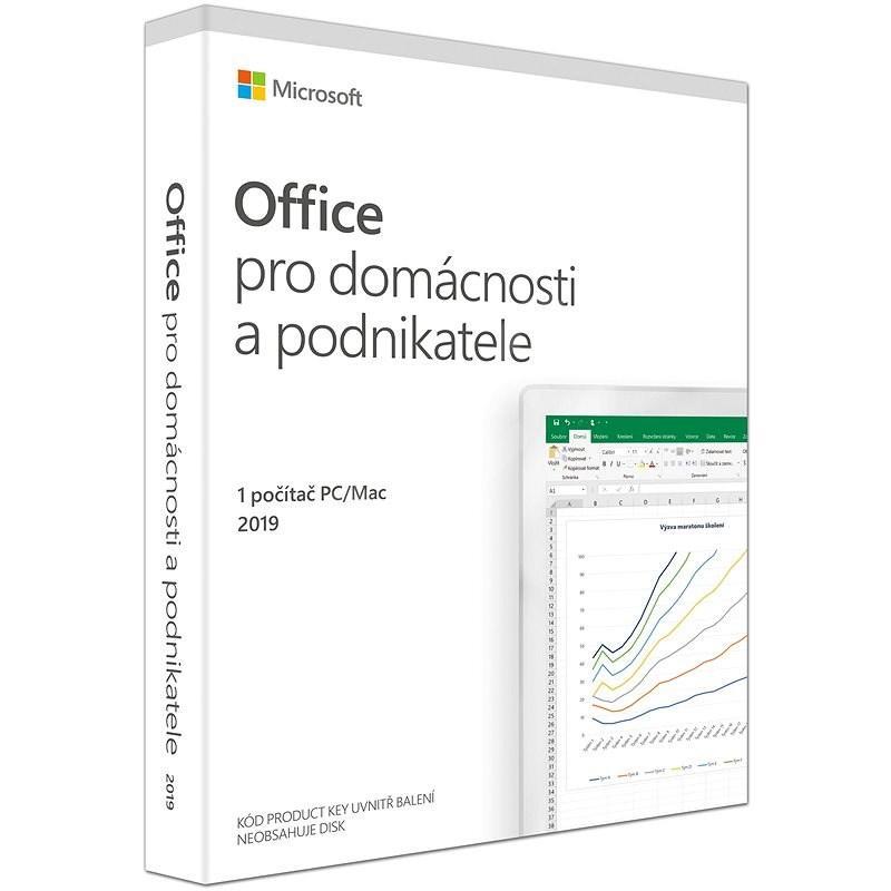 Microsoft Office 2019 pro domácnosti a podnikatele CZ (BOX) - Kancelářský software