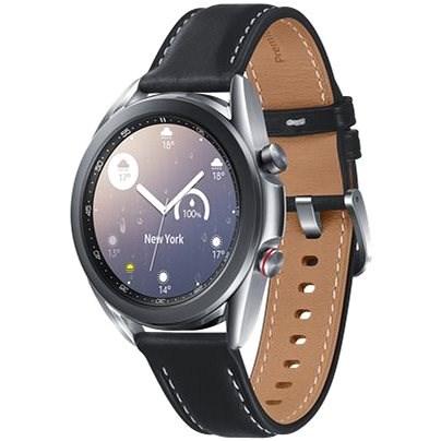 Samsung Galaxy Watch 3 41mm stříbrné - Chytré hodinky