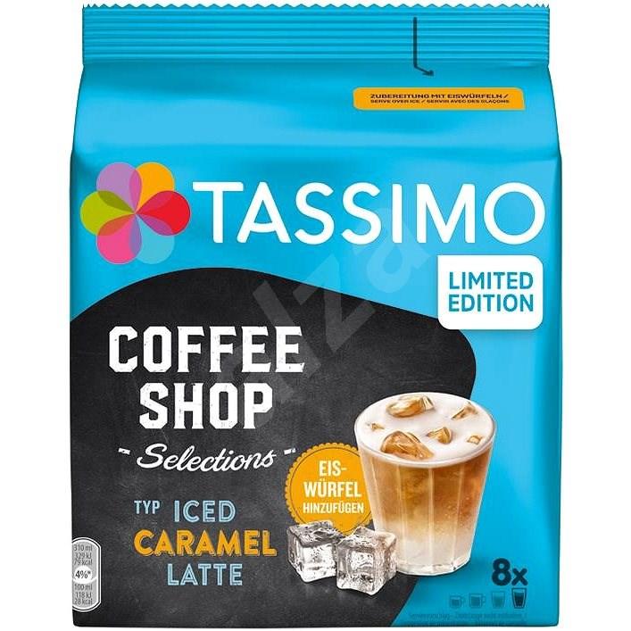 TASSIMO kapsle Iced Caramel Latte 8 nápojů - Kávové kapsle