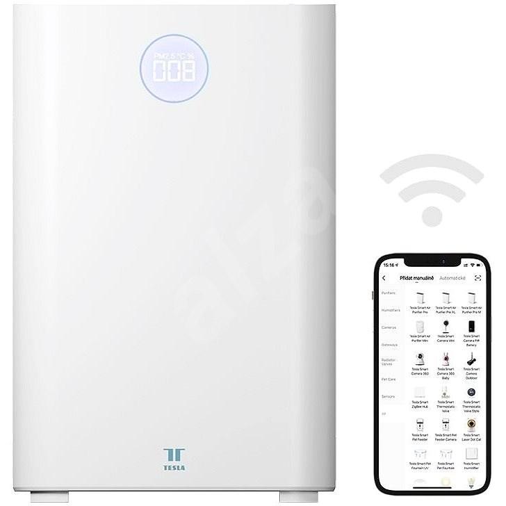 Tesla Smart Air Purifier Pro M - čistička vzduchu - Čistička vzduchu