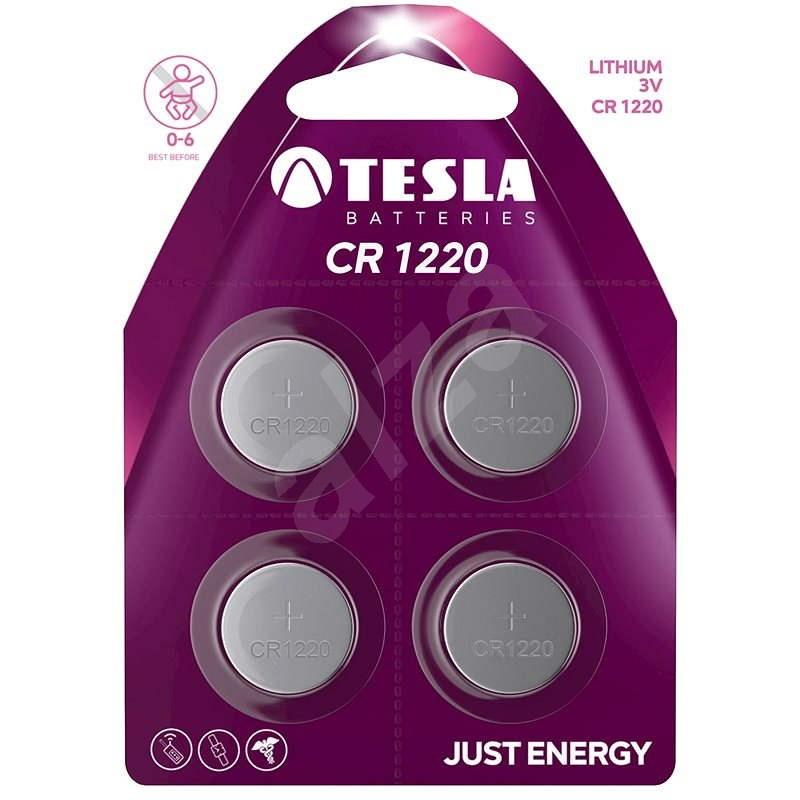 Tesla Batteries CR1220 4ks - Jednorázová baterie