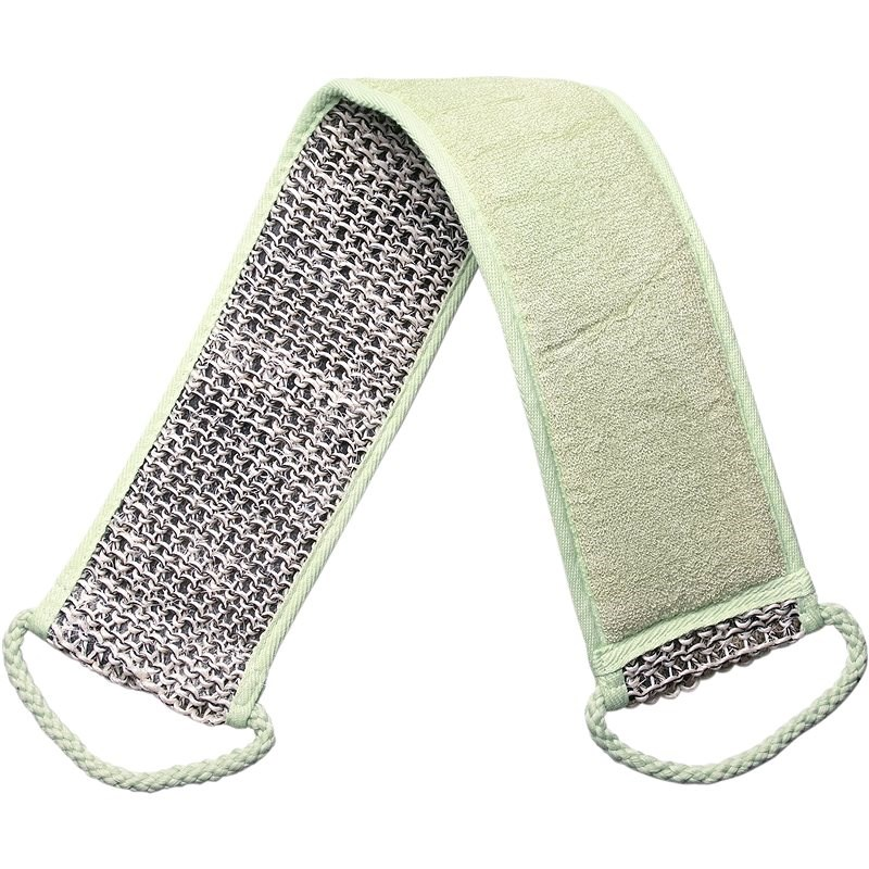 TITANIA Natural Body Care Massage Belt for Back with Handles - Massage Belt