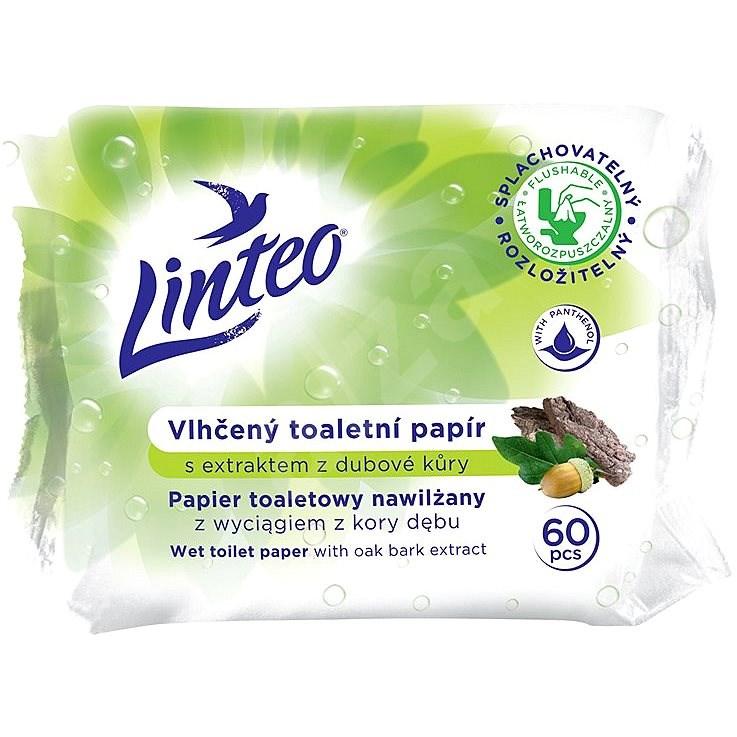 LINTEO  Vlhčený toaletní papír s dubovou kúrou  (60 ks) - Toaletní papír