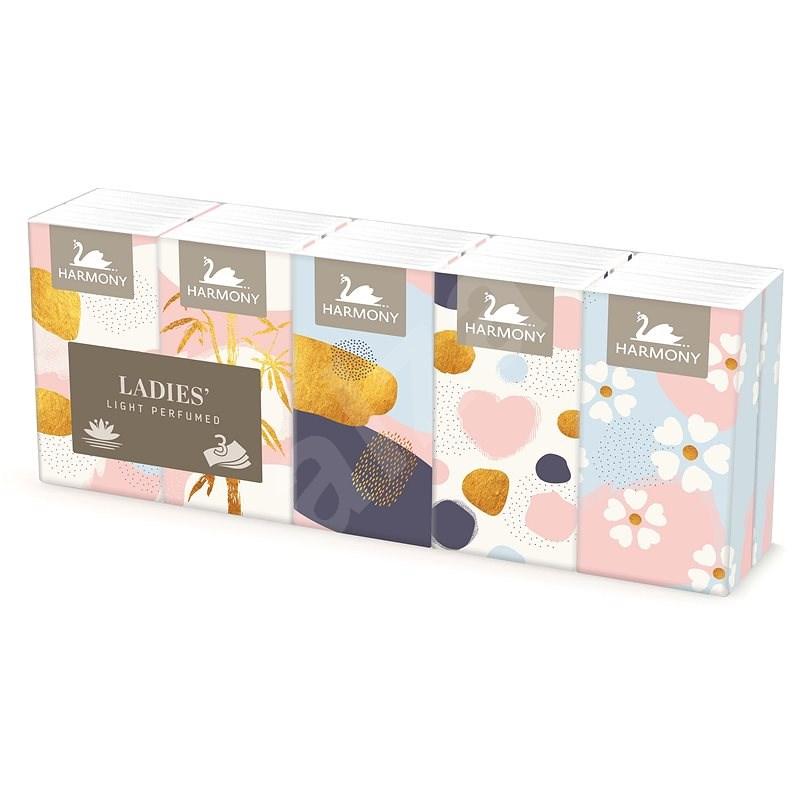 HARMONY  Ladies´ Light Perfumed (10×10 ks) - Papírové kapesníky