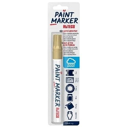 ALTECO Paint Marker zlatý popisovač - Popisovač