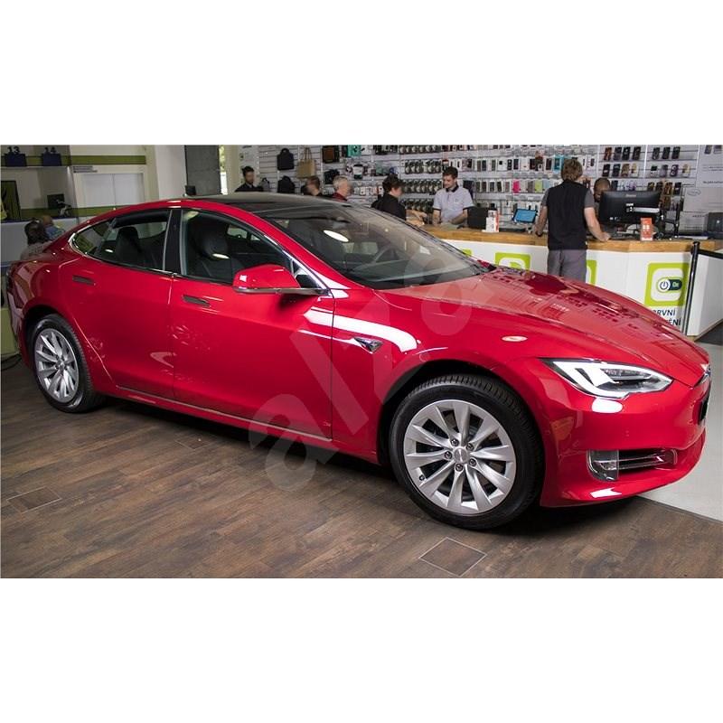 TESLA Model S 75D červená - Elektromobil