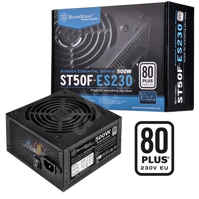 SilverStone Strider Essential 80Plus ST50F-ES230 500W - Počítačový zdroj