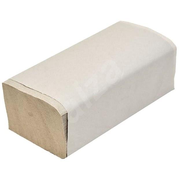 ALLSERVICES papírové ručníky ZZ šedé, 34 g/m2, 4600 ks - Papírové ručníky