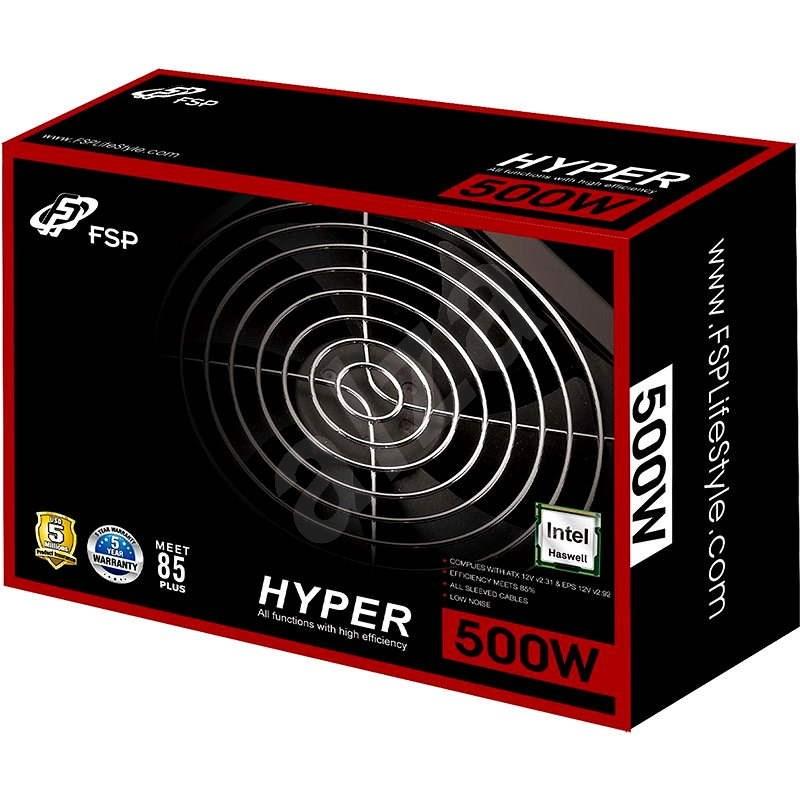 FSP Fortron Hyper S 500 - Počítačový zdroj