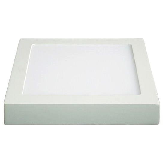 Solight LED panel přisazený 18W čtvercový I, bílý - LED světlo