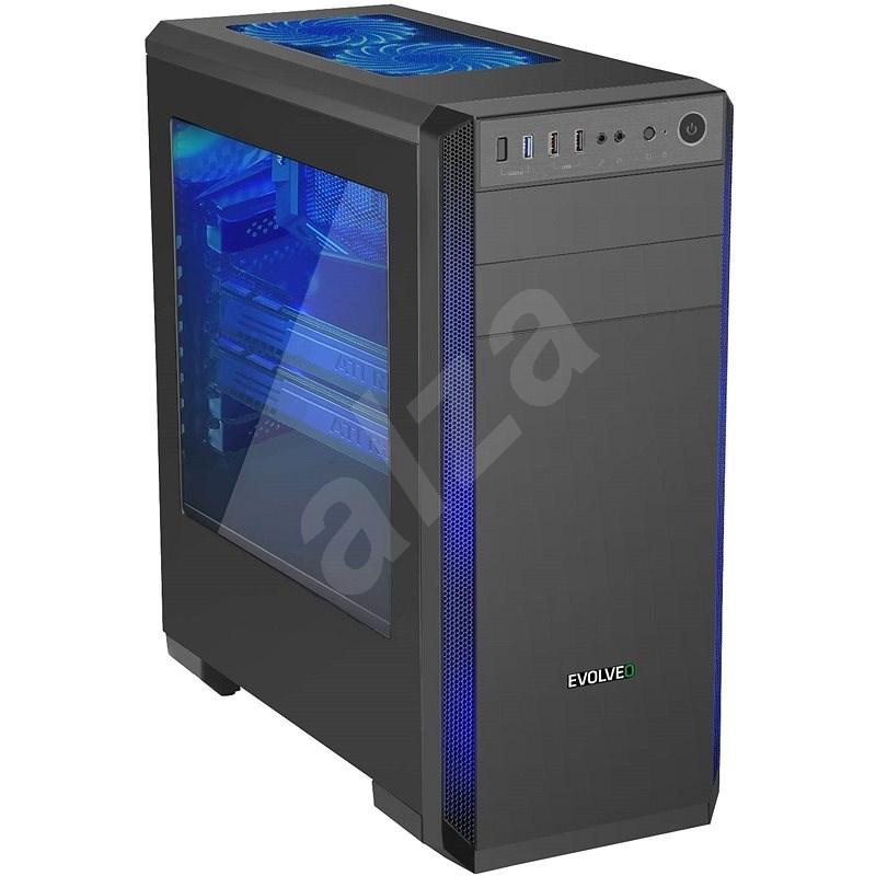 EVOLVEO T3 černá - Počítačová skříň