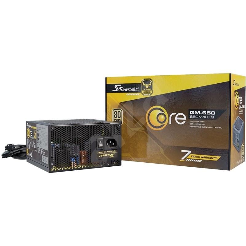 Seasonic Core GM 650 Gold - Počítačový zdroj