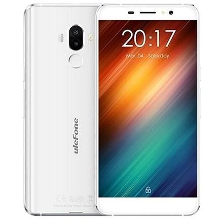 UleFone S8 Dual SIM White - Mobilní telefon