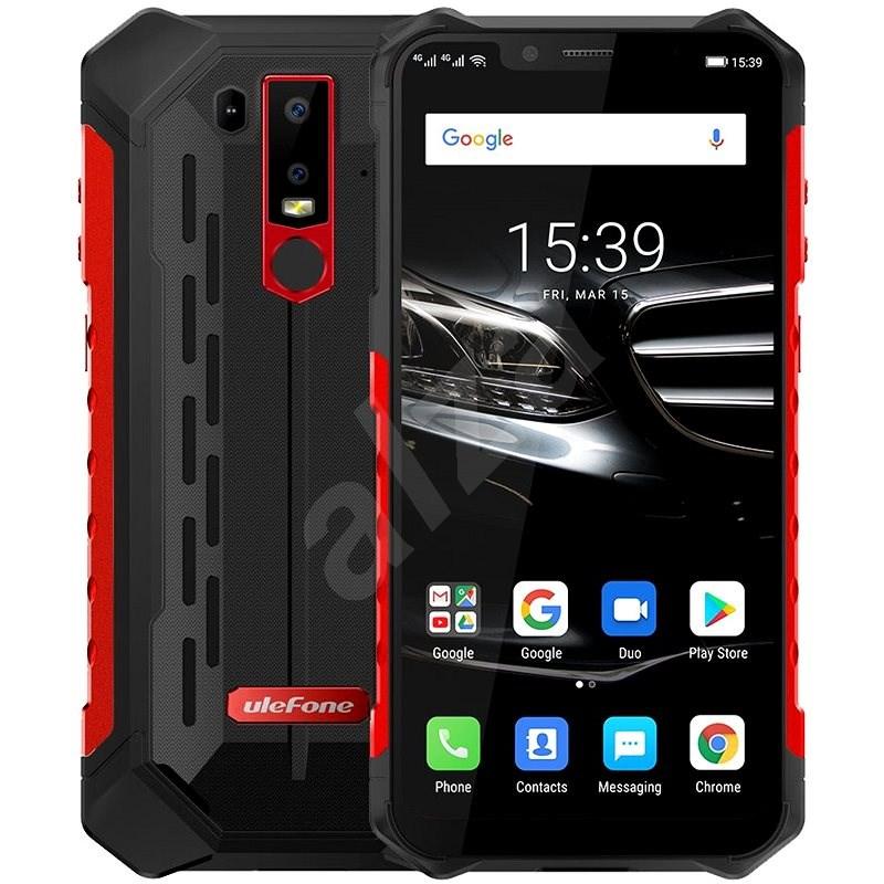 UleFone Armor 6E červená - Mobilní telefon