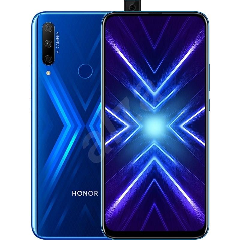 Honor 9X modrá - Mobilní telefon