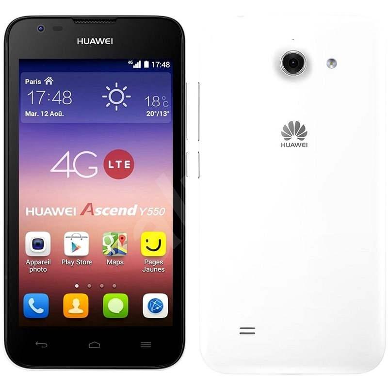 HUAWEI Y550 White - Mobilní telefon