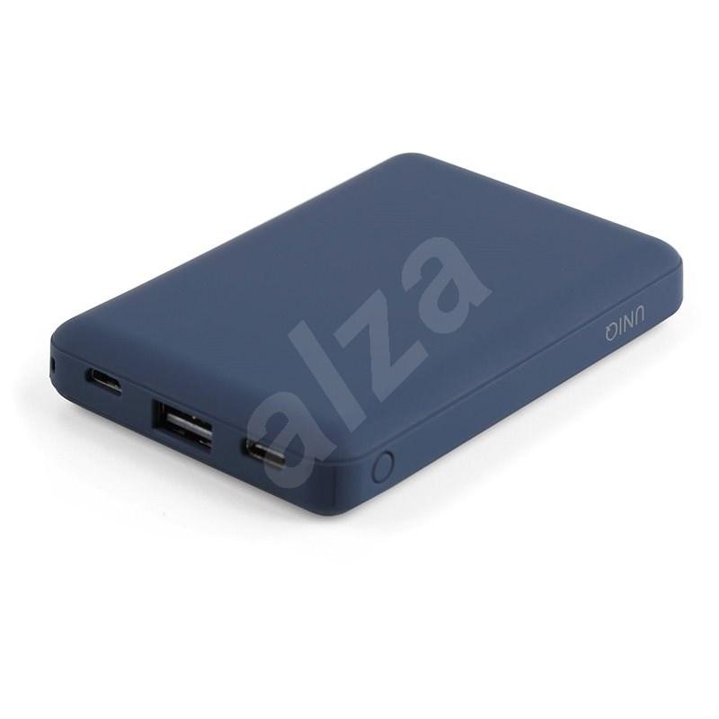 Uniq Fuele Mini 8000mAH USB-C PD Pocket Power Bank Indigo modrá - Powerbanka