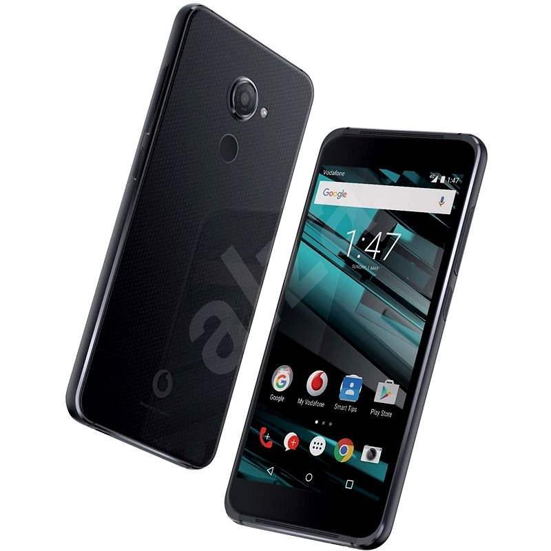 Vodafone Smart platinum 7 Quartz Black - Mobilní telefon