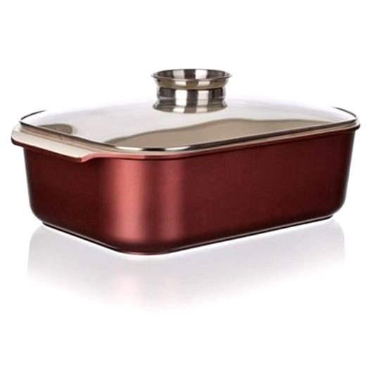 BANQUET Gourmet Ceramia s poklicí 40x25cm A11383 - Pekáč