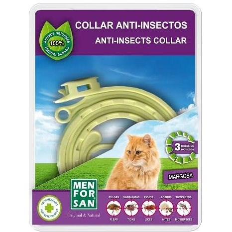 Menforsan Přírodní antiparazitní obojek pro kočky 1 ks - Antiparazitní obojek