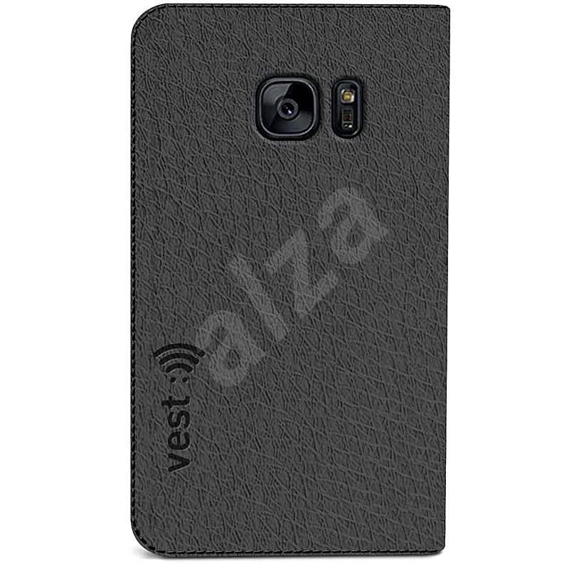 Vest Anti-Radiation pro Samsung Galaxy S7 edge šedé - Pouzdro na mobil