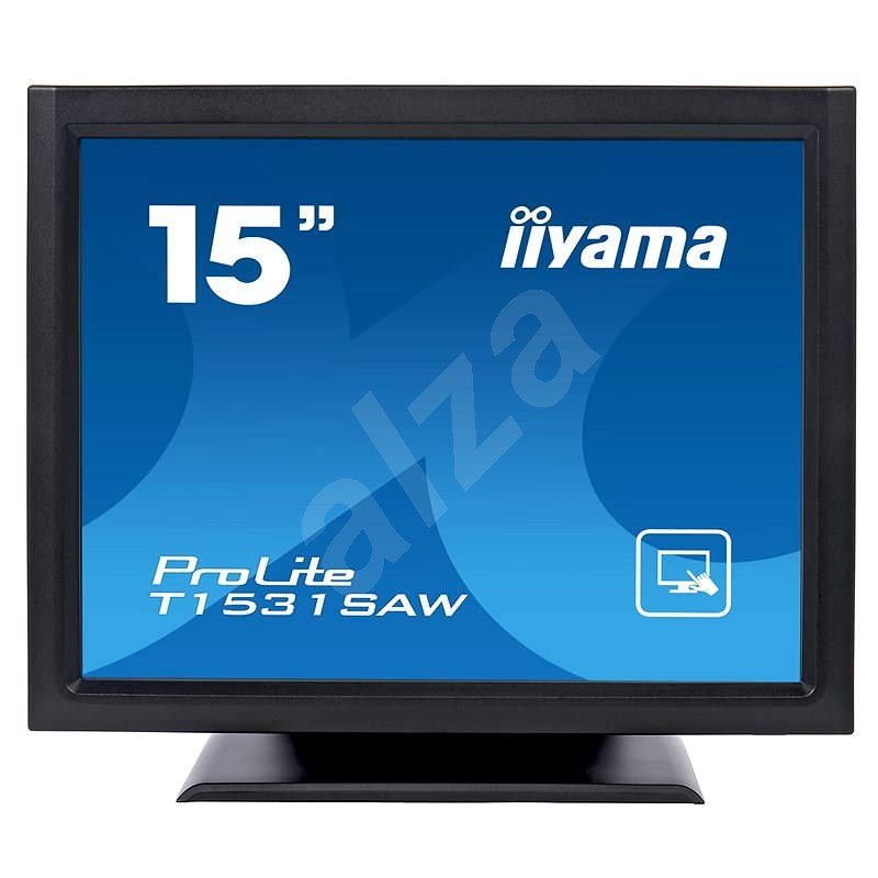 "15"" iiyama ProLite T1531SAW-B3 Touchscreen - LCD monitor"