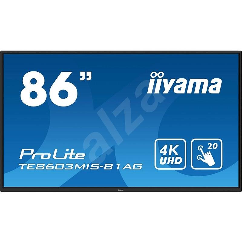 """86"""" iiyama TE8603MIS-B1AG - Velkoformátový displej"""