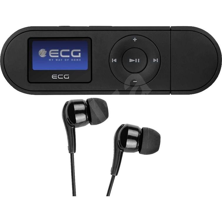 ECG PMP 20 4GB Black - MP3 přehrávač