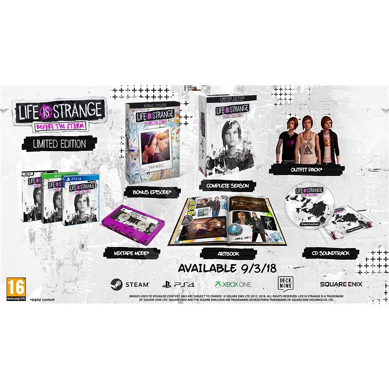 Life is Strange Before the Storm - Limited edition - Hra na PC