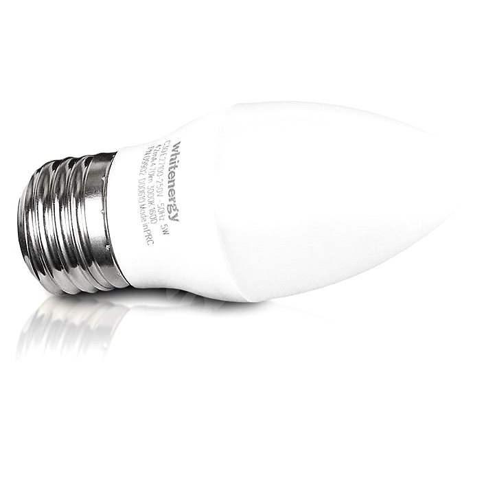 Whitenergy SMD2835 C30 E27 5W - bílá mléčná - LED žárovka