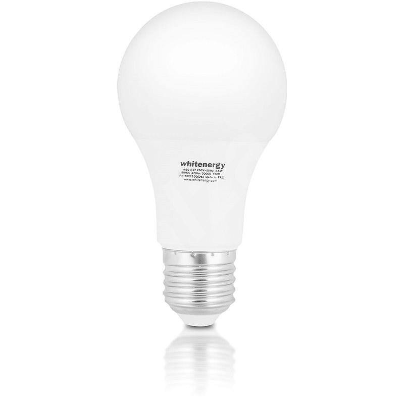 Whitenergy LED žárovka SMD2835 A60 E27 5W teplá bílá - LED žárovka
