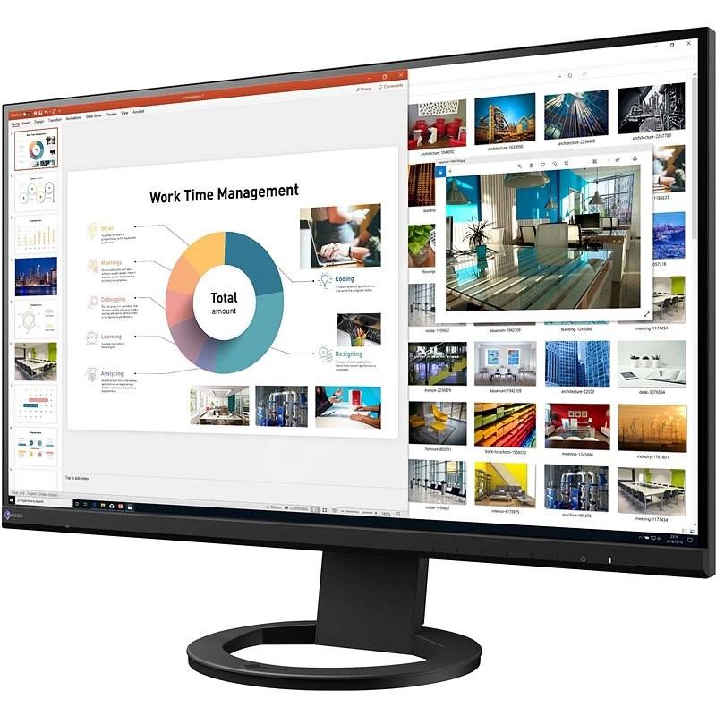 "27"" EIZO FlexScan EV2760-BK - LCD monitor"