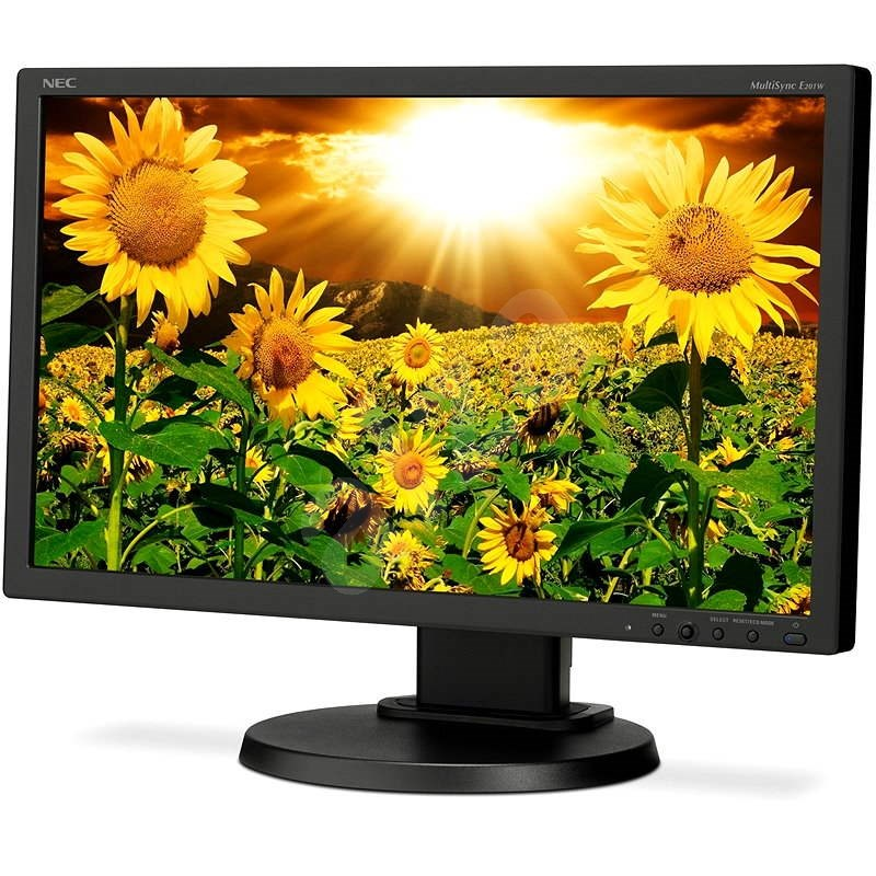 "20"" NEC MultiSync LED E201W černý - LCD monitor"