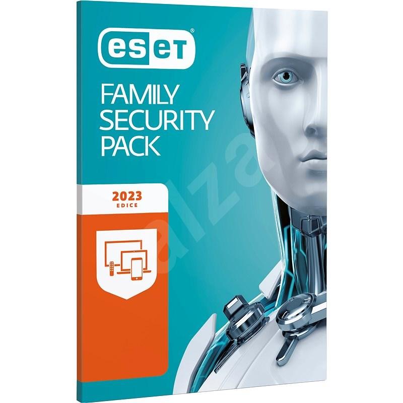 ESET Family Security Pack pro 3 počítače a 3 mobilní zařízení na 12 měsíců (elektronická licence) - Internet Security