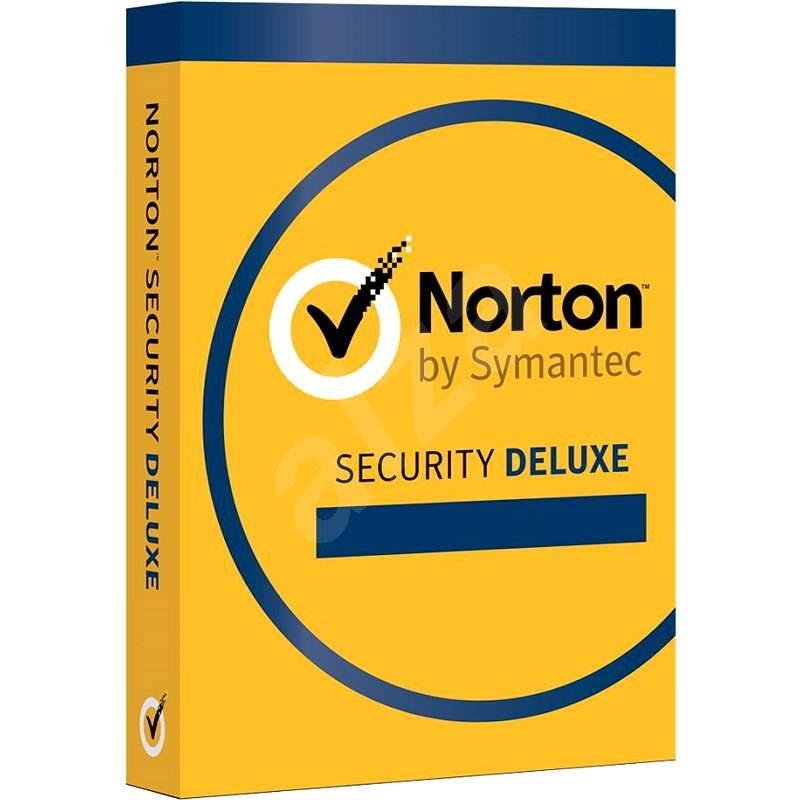 Norton Security Deluxe 3.0 CZ, 1 uživatel, 3 zařízení, 12 měsíců (elektronická licence) - Antivirus