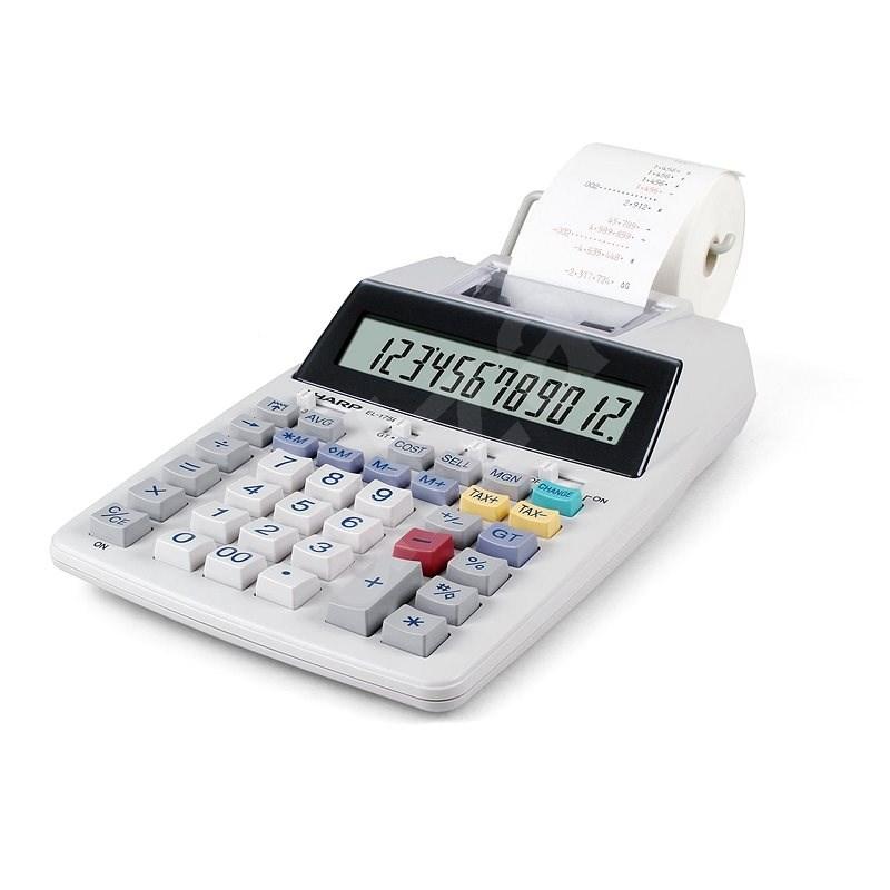 Sharp SH-EL1750V bílá - Kalkulačka