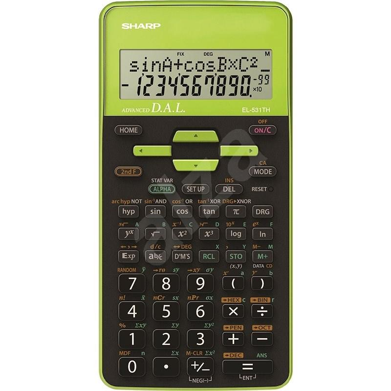 Sharp EL-531TH zelená - Kalkulačka