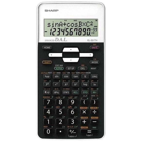 Sharp SH-EL531TH bílá - Kalkulačka