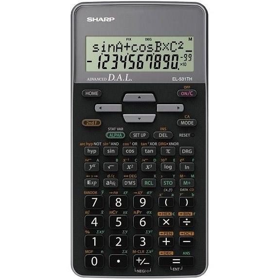 Sharp EL-531TH šedá - Kalkulačka