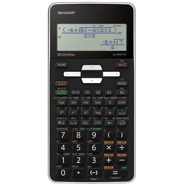 Sharp EL-W531TH černá - Kalkulačka