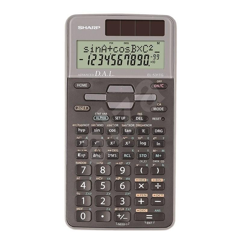Sharp EL-531TG šedá - Kalkulačka