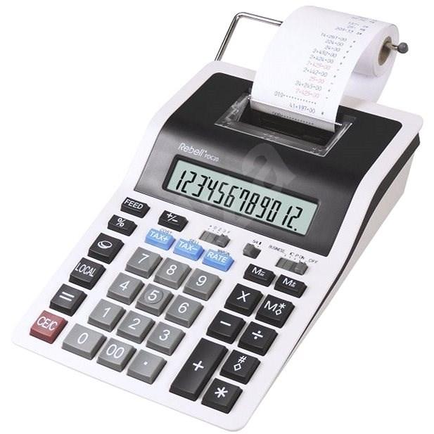 REBELL PDC20 bílo/černá - Kalkulačka