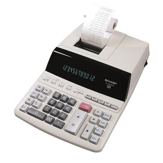 Sharp EL 2607 PG šedá - Kalkulačka