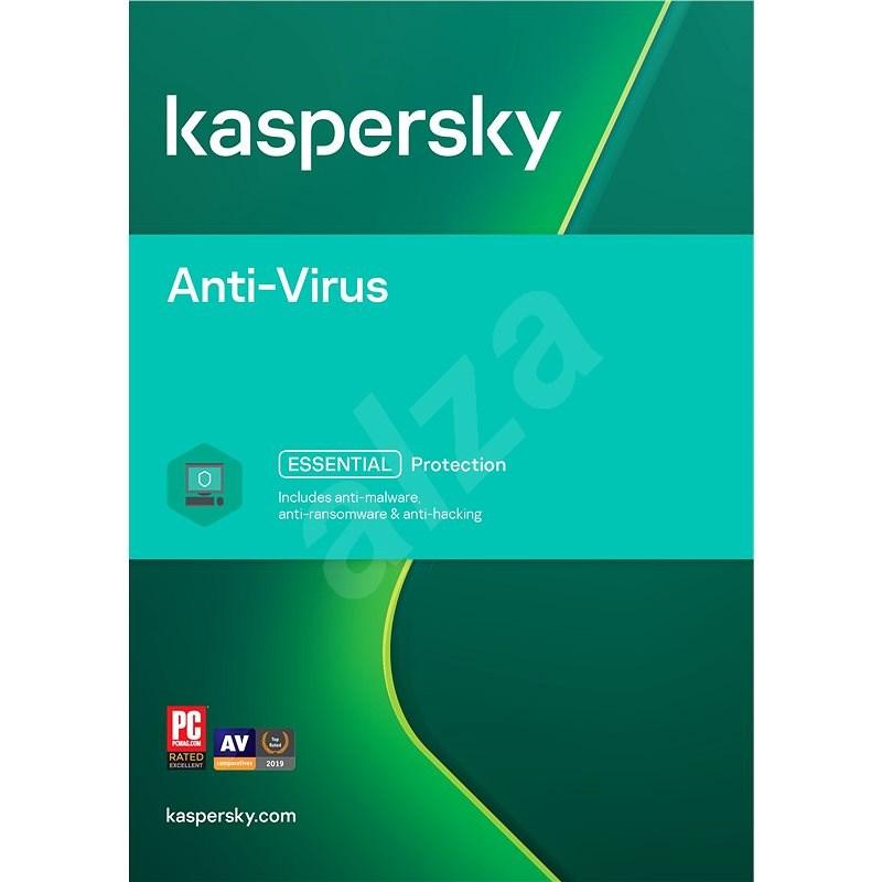 Kaspersky Anti-Virus obnova pro 4 počítače na 12 měsíců (elektronická licence) - Antivirus