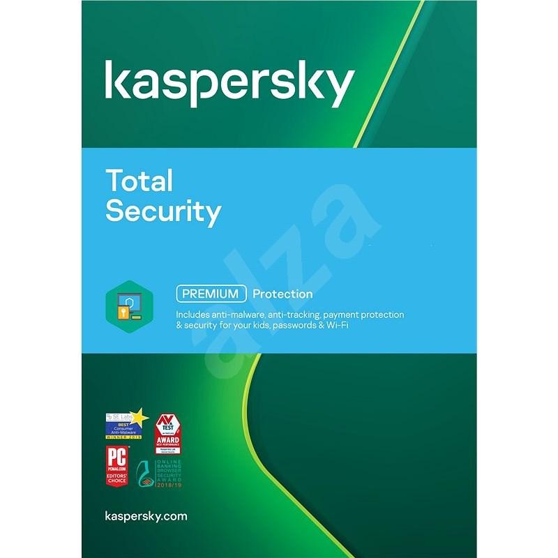 Kaspersky Total Security obnova pro 1 zařízení na 12 měsíců (elektronická licence) - Internet Security