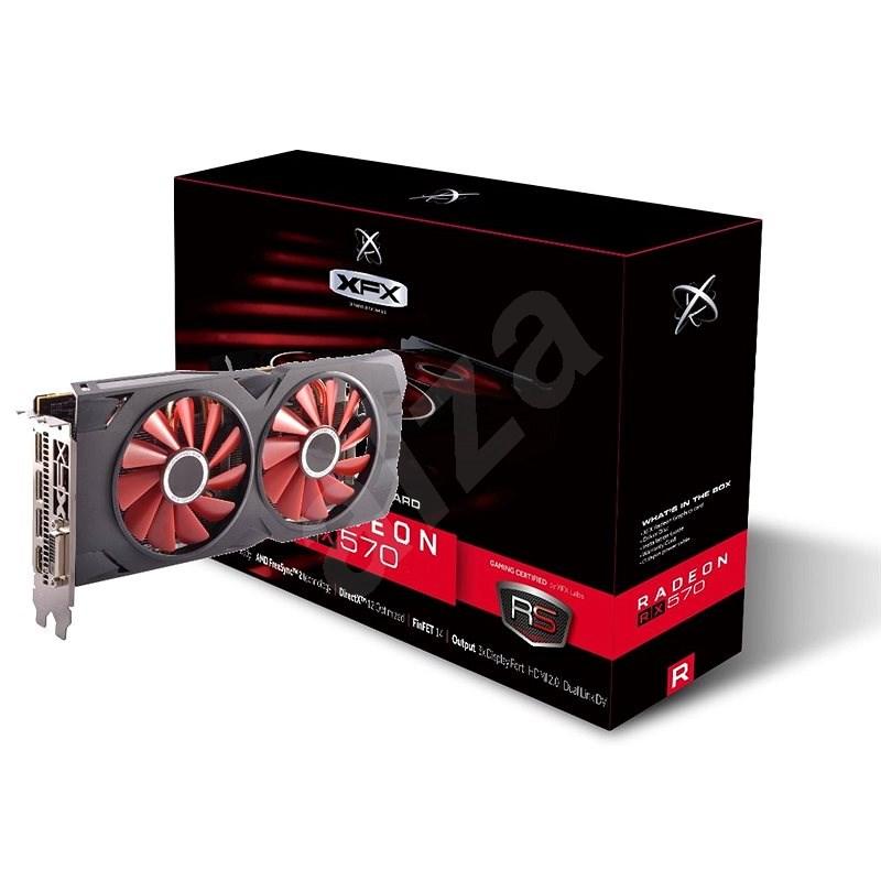 XFX RS Radeon RX 570 8GB TripleX Edition - Grafická karta